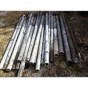 GALVANIZED STEEL PIPE FENCE POSTS