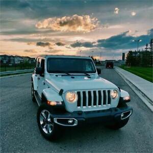 "2019 Jeep Wrangler Unlimited Sahara JL V6 Leather 8,4"" Navi"