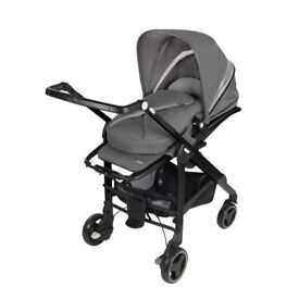 From birth to toddler grey Maxi Cosi pushchair/carrycot