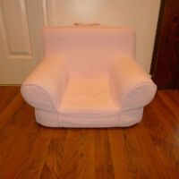 Pottery Barn Kids My First Anywhere Chair COVER-Pink Gingham $15