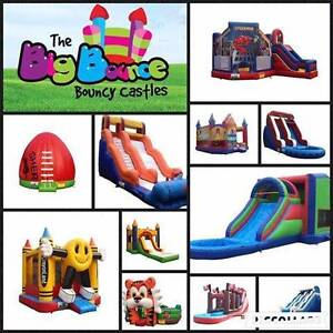 Big Bounce Bouncy Castles - ALL DAY HIRE, 25+ THEMES Booragoon Melville Area Preview