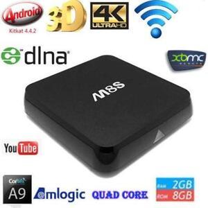 ???ANDROID TV BOX ??? MXQ M8S+ MX3 TV BOX IPTV BOITE KODI Installed