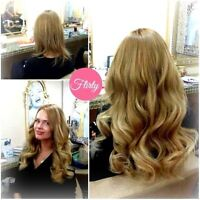 TAPE EXTENSIONS, MICRO LINKS, CLIP IN EXTENSIONS - European Hair