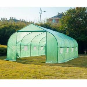 10 x 20 Greenhouse Nursery Tunnel / Walk In Large Portable Greenhouse for Sale / Greenhouse for growing fruits & Vegie
