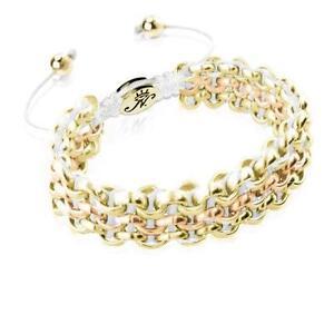 50% OFF All Jewellery - Gold Kismet Links | SnowBracelet
