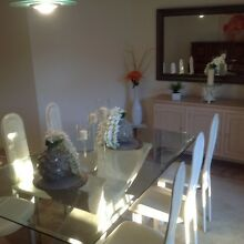 Glass dinning room suite Sunnybank Hills Brisbane South West Preview