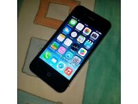 iPhone 4s - 16GB - black - mint conditon