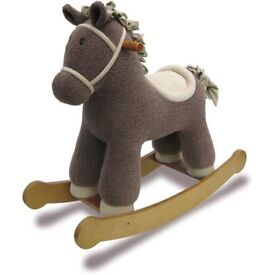 Hobnob Traditional Rocking Horse Suitable For Toddlers Aged 12 Months+