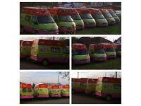 Ford Transit- ice cream van-DebrecenMikepércs-Rózsás-Motel