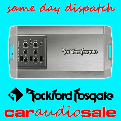 ROCKFORD FOSGATE POWER TM400X4AD 400 WATT 4 CHANNEL MARINE COMPACT AMPLIFIER
