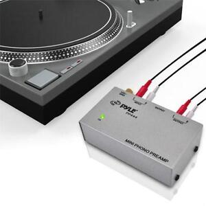 Pyle (PP444) Ultra Compact Phono Turntable Preamp