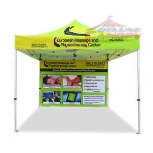 DELUXE CANOPIES CAN LTD CUSTOM CANOPY TENTS, FLAGS, TABLE COVERS