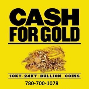CASH FOR GOLD WE BUY JEWELLERY WATCHES DIAMONDS ☛780-700-1078☚