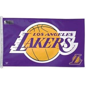 Wincraft NBA Los Angeles Lakers WCR06459010 Team Flag, 3-Feetx5-