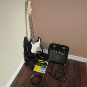Guitare électrique Aria strat