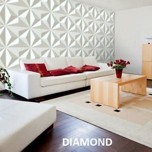 3D Wall Pannel 12 Tiles 32 Sqft Home Decoration Cornwall Ontario image 3