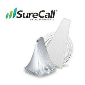 OB SURECALL HOME CELL BOOSTER KIT SC-FLARE3CA 234412479 FLARE 3.0 CELL PHONE BOOSTER FOR VOICE TEXT 4G OPEN BOX