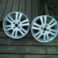 Two 16 inch rims for Ford Focus 2011