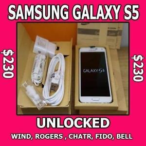 Samsung Galaxy S5 $230 with 90 days Warranty.. .Best Price On KIJIJI!!