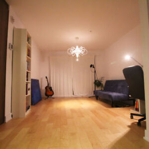 Charming and cozy, furnished studio in NDG