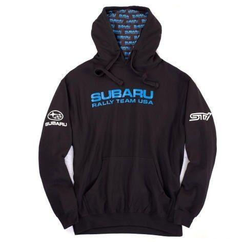Subaru Rally Hooded Hoodie Sweatshirt Sti Official Genuine WRX NEW Racing JDM !!