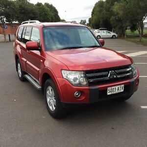 2009 Mitsubishi Pajero NS Platinum Edition 5 Speed Auto Sports Mode Wagon Clarence Gardens Mitcham Area Preview