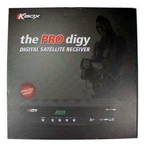 Kbox Prodigy Digital Satellite Receiver with Remote Control