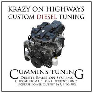 ~Diesel Pickup Delete Tuning for Dodge Cummins (2006-2016)~
