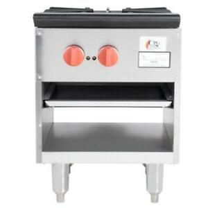 Cooking Performance Group CPG-SP-18-2 Gas Stock Pot Range 70,000 . *RESTAURANT EQUIPMENT PARTS SMALLWARES HOODS AND MORE