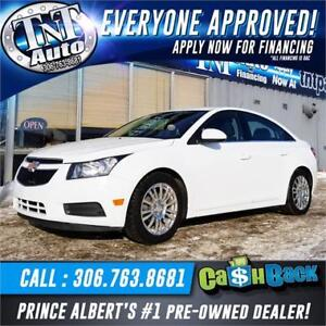 2012 Chevrolet Cruze Eco UR ALREAD APPROVED!  APPLY NOW!!
