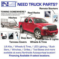 Trailer Hitches - Towing Accessories - Tonneau Covers and More!