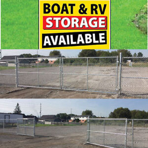 Trailer, RV and Boat Outdoor Storage