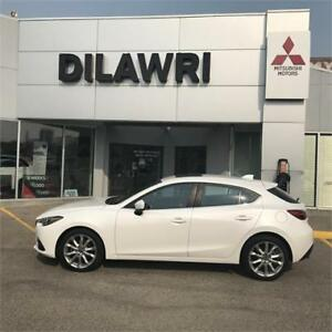 2014 Mazda Mazda3 GT-SKY** Loaded**Low Km's** Pearl White**