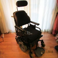 Full feature electric wheelchair