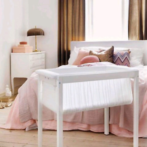 STOKKE - Berceau et support blanc - Home cradle and stand white