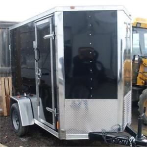 "Enclosed Cargo Trailers 6'6"" Interior And Much More"