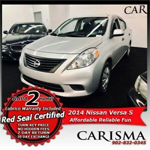 Drive for Less~2014 Nissan Versa S~Affordability & Fuel Economy