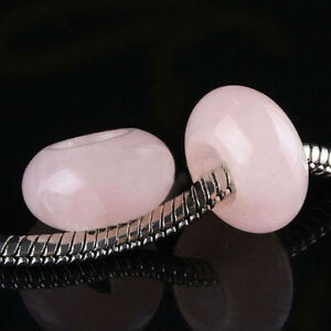 Rose Quartz Gemstone Cut/Carved into beads to wear