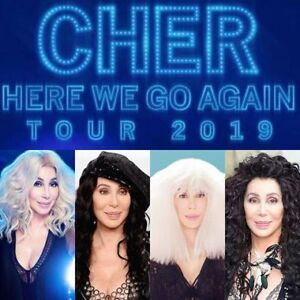 Cher @ Toronto April 22nd and Ottawa April 24th great seats!!