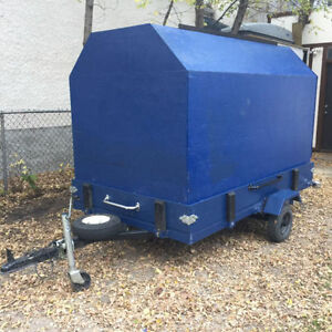Custom enclosed/stake side/flat deck trailer ***ON HOLD***