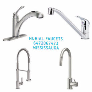 PULL OUT KITCHEN FAUCET SINGLE HOLE  VANITY FAUCET SINK FAUCET