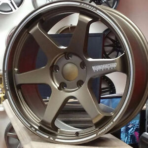 Te37 Replica Matt Bronze $850 TAX IN 18x8 (4New) @9056732828