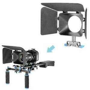DSLR Matte Box For 15mm Rail Rod Support