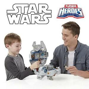 NEW STAR WARS MILLENIUM FALCON - 105450946 - PLAYSKOOL JEDI FORCE  - WITH FIGURES - GALACTIC HEROES - KIDS TOYS GAMES