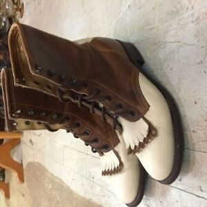 bottes d'équitation style roper en cuir gr. 7(37) femme