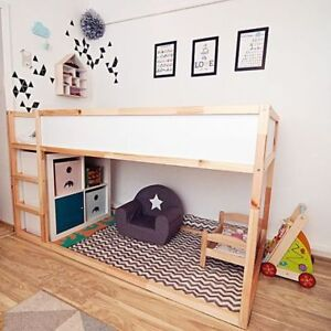 Single or Bunk Ikea Kura Reversible Bed