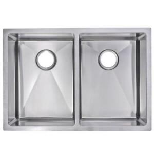 small radius hand mande stainless steel sink new import cost direct