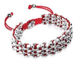 50% OFF All Jewellery - Silver Kismet Links   Crimson RoseBracelet