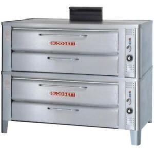 Blodgett 911P Gas Double Pizza Deck Oven  54,000 BTU*RESTAURANT EQUIPMENT PARTS SMALLWARES HOODS AND MORE*