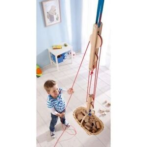 Haba Block & Tackle (Pulley) - Quality Toy Made in Germany